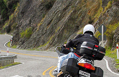 New Zealand Guided Self Guided Motorcycle Tours